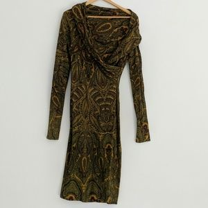 Alexander McQueen Paisley Dress